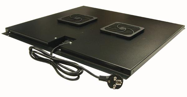 unit de ventilateurs pour baie de brassage profondeur 800 platine rseaux. Black Bedroom Furniture Sets. Home Design Ideas
