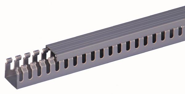 rail plastique de gestion de c bles 35x35 42u pour baie 19 pouces. Black Bedroom Furniture Sets. Home Design Ideas